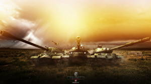 Фотография World of Tanks Танки Русские IS-7, IS-8, IS-4 Игры