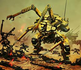 Картинка Фантастическая Робот