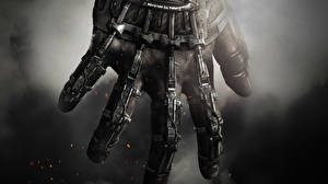 Обои Call of Duty Пальцы Крупным планом Руки Advanced Warfare Игры фото
