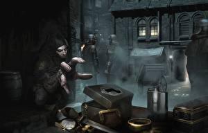 Фотография Thief Мужчины Пальцы Garrett Игры