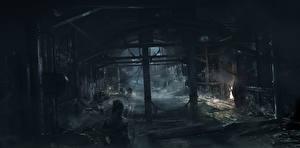 Обои Thief Водный канал Ночь Игры фото