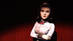 Картинка BioShock BioShock Infinite Elizabeth Игры Девушки 3D_Графика