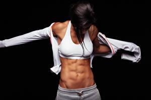 Обои Фитнес Живот Девушки Спорт фото