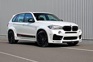 Обои BMW Белый F15 Lumma Design Автомобили фото