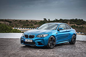 Обои BMW Голубой F87 Автомобили картинки