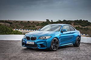 Обои BMW Голубой F87 Автомобили фото