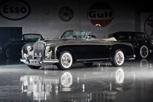 Обои Bentley Ретро Черный Кабриолет 1955-58 S1 Continental Drophead Coupe by Park Ward Автомобили фото