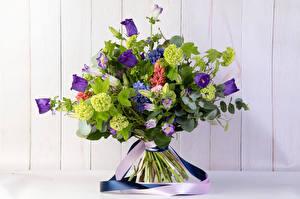Обои Букеты Колокольчики - Цветы Доски Цветы фото