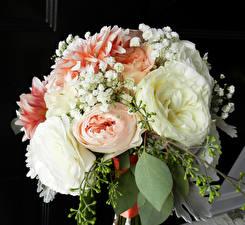 Фото Букеты Пионы Цветы