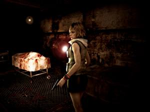 Картинки Silent Hill 3 Heather Mason Игры 3D_Графика Девушки