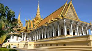 Обои Храмы Дизайн Phnom Penh Cambodia Города картинки