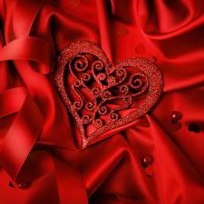 Обои День святого Валентина Сердце Дизайн Красный фото