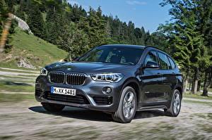 Картинка BMW Скорость Серая Металлик 2015  xDrive Sport Line F48 авто