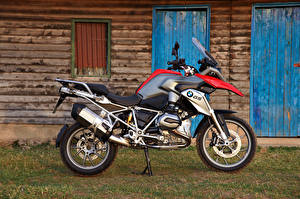 Обои BMW - Мотоциклы Сбоку 2013-16 R 1200 GS Мотоциклы фото