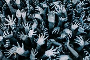 Картинка Много Пальцы Руки