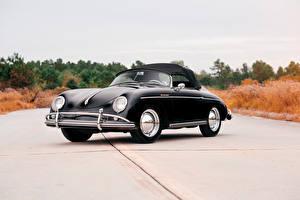 Фото Порше Ретро Черный 1958-59 356A 1600 Speedster by Reutter Авто