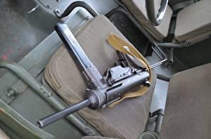 Обои Пистолет-пулемёт Cal. .45, M3 Армия фото