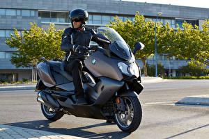 Фотография BMW - Мотоциклы Мотоциклист Шлем Очки 2012-16 C 650 GT Мотоциклы