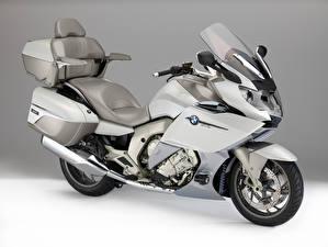 Обои BMW - Мотоциклы Белый 2015-16 K 1600 GTL Exclusive Мотоциклы фото
