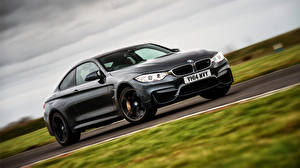 Обои BMW Черный UK-spec Coupe 2014 F82 Автомобили фото