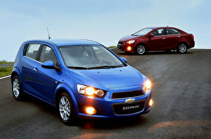 Обои Chevrolet Двое Sonic Автомобили фото