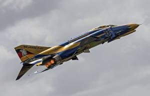 Картинки Самолеты Истребители F-4F Phantom II McDonnell Douglas