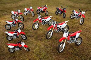Обои Honda - Мотоциклы Много CRF Series Мотоциклы фото