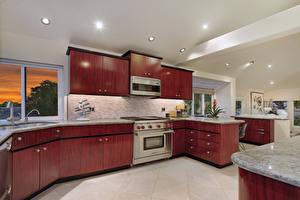 Фотография Интерьер Дизайн Кухня Потолок