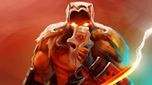 Фото Juggernaut DOTA 2 Маски Воители Игры Фэнтези