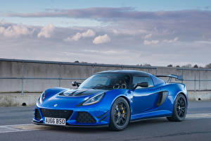 Обои Lotus Металлик Синих 2016 Exige Sport 380 авто