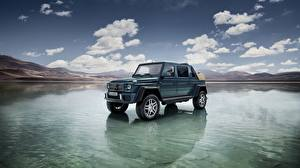 Картинка Mercedes-Benz Вода 2017 Maybach G 650 Landaulet Worldwide Автомобили