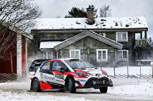Обои Toyota Тюнинг 2017 Yaris WRC (XP130) Автомобили фото
