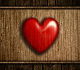 Фотографии День всех влюблённых Вблизи Доски Сердце Красный