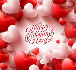 Фотография День святого Валентина Английский Сердце