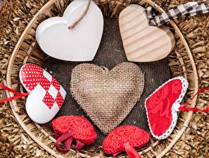 Обои День святого Валентина Сердце фото