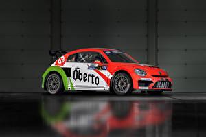 Фотографии Volkswagen Тюнинг 2015-17 Beetle GRC машина