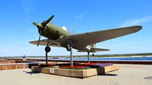 Фотографии Самолеты Россия Волгоград Музей Panorama Museum The Battle of Stalingrad, SU-2 (BB-1)