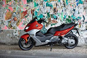 Фотографии БМВ Сбоку 2015-16 C 650 Sport Мотоциклы