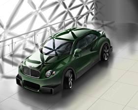 Обои Bentley Рисованные Зеленый S3 Concept Автомобили