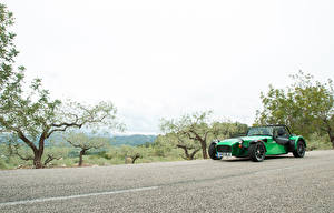 Обои Caterham 7 Зеленых 2013-16 485 S Worldwide