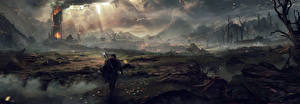Картинки Фантастический мир Воители Middle-earth: Shadow of Mordor Игры Фэнтези
