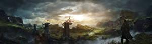 Картинка Фантастический мир Воители Middle-earth: Shadow of Mordor Игры Фэнтези