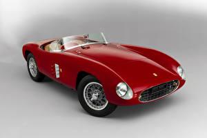 Обои Ferrari Старинные Бордовый Кабриолет 1948 166 Spyder Corsa Scaglietti