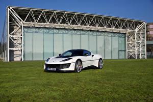 Обои Lotus Белый 2017 Evora Sport 410 Esprit S1 Автомобили