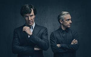 Фотография Мужчины Камбербэтч Бенедикт Шерлок Холмс season 4 Martin Freeman Фильмы Знаменитости