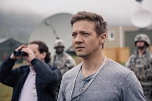 Обои Мужчина Jeremy Renner Arrival 2016 кино Знаменитости
