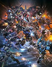 Картинка Робот Mobile Suit Gundam Extreme VS-Force Игры Фэнтези
