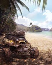 Фото MotorStorm Пальмы Pacific Rift Игры