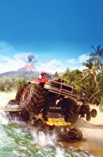 Картинки MotorStorm Вулкан Pacific Rift Игры