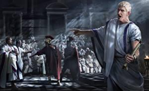 Обои Rome: Total War Мужчины 2, Senate Игры картинки